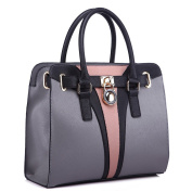 LeahWard® Women's Faux Leather Tote Handbags Large Shoulder Bag For Her CW412