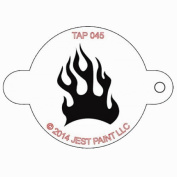TAP Re-useable Face Paint Stencils - TAP045 Fire Flame by TAP Face Paint Stencils