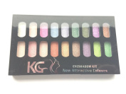 Krazy Girl No.2 Eyeshadow Palette 18 Bright Colours