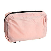 Hrph Portable Hanging Multi-function Makeup Cosmetic Bag Toiletry Pouch Storage