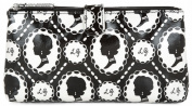 Lulu Guinness Cameo Print Double Cosmetic Make-up Bag