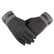 Gloves Transer® Men Winter Thermal Warm Touch Screen Gloves Ski Snow Snowboard Cotton Gloves for Motorcycle Riding/ Driving