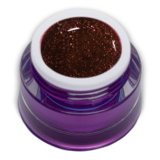 Premium Glam Glitter Colour Gel Red 5ml RM Beauty Nails
