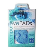 Computer Eyes - Cool Aqua Eye Pads