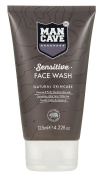 ManCave Sensitive Face Wash, 125 ml