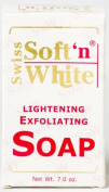 Swiss Soft N White Lightening Exfoliating Soap