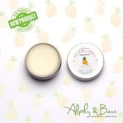 Natural Lip Balm With Coconut oil & Shea Butter - PINEAPPLE - 15ml