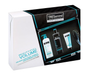 TRESemme Beauty Full Volume Expert Pre Wash Conditioner Shampoo Brush Gift Set.