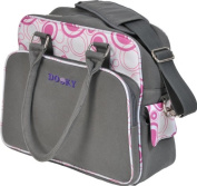 Dooky Changing Bag (Pink/Grey - Polyester Fabric