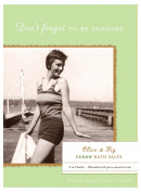 Shannon Martin Girl Designer Bath Salts, Olive Fig Renew