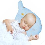 Nursing & Decorative Baby Pillow for Newborns and Infants Elephant Shape Blue