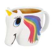 Thumbs Up Colour Changing Unicorn Mug, Multi-Colour