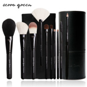 CERROQREEN 10pcs Makeup Brushes Cosmetic Brush Set pony hair goat hair without bag