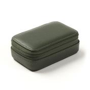 Small Zip Case - Full Grain Leather - Hunter Green