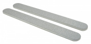 Standard Zebra 80/80 (Wht Ctr) Nail File 50 Pack