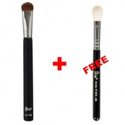Bundle - Petal Beauty Travel size Eye Shading makeup Brush + FREE $9 Value Eye Blending Brush
