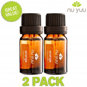 Nu Yuu Wild Orange 100% Pure Therapeutic Grade Essential Oil (2-Pack), Size 10 mL
