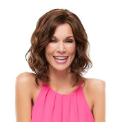 Aoert Short Heat Resistant Loose Wig Synthetic Brown Curly Wig for Women 41cm Side Part