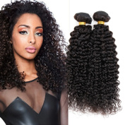 Jiameisi Hair Brazilian kinky curly Virgin Hair 100% Unprocessed Human Hair Extensions Double Weft Weave Natural Colour Real 6A Grade 1 Bundle 100g per Lot