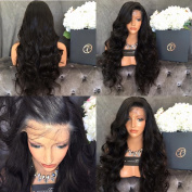 Black Beauty Wig Brazilian Body Wave Virgin Hair Glueless Full Lace Front Human Hair Wigs Bleached Knot with Baby Hair