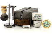 Gentleman Jon Deluxe Wet Shave Kit | Includes 8 Items