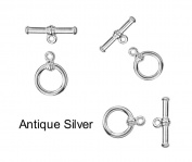4 sets Round Toggle Clasp for Jewellery Making TVT-17