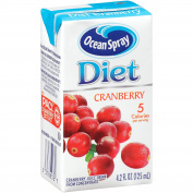 Ocean Spray Diet Cranberry Juice Drink, 120ml Juice Boxes