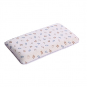 CdyBox Long Staple Cotton Baby Pillow Memory Foam Infant Head Shaping Pillow