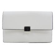 Essex Glam Women's Synthetic Leather Envelope Clutch Handbag