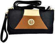Cross-Body Handbag Clutch Detachable Strap Wrist Strap Wallet Wristlet