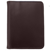 DJNY Gunine Leather RFID Bifold Credit Card Holder