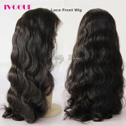 iVogue Hair Best Virgin Brazilian Human Hair Wigs Body Wave Glueless Human Hair Lace Front Wig for Black Women Wavy Natural Balck Colour