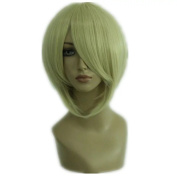 NiceLisa Wigs Short Blonde Manga Full Top Quality Synthetic Cosplay Wig