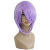 NiceLisa Wigs Natural Short Lilac Violet Manga Full Top Quality Synthetic Cosplay Wig