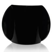 Lucia Plain Black Large Hair Clip Clamp