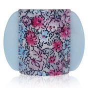 Lucia Flowers Print Medium Hair Clip Clamp