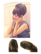 New Short Ponytail Hair Piece Extension Wavy Claw Clip In/on Hairpiece PM004