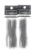 Amish Made Hair Pins - Crinkle, 7.6cm