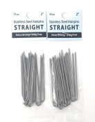 Amish Made Hair Pins - Straight, 5.1cm