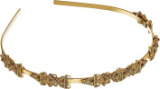 Oscar de la Renta Women's Orante Charm Headband Gold Headband