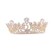 ULTNICE Wedding Tiara Bridal Princess Crown Crystal Rhinestones Headband