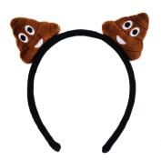 WinnerEco Emoji Emoticon Cute Headband Hairpin Hair Clip Headwear for Kids