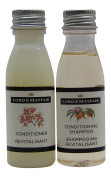 Lord and Mayfair Apple & Wicker Conditioning Shampoo & Conditioner Lot of 16 (8 of each) 30ml Bottles.