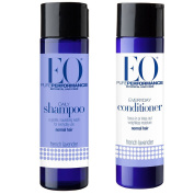 EO French Lavender All Natural Botanical Shampoo and Conditioner Bundle For Normal Hair With Vitamin B, Vitamin E and Essential Oil, 240ml each