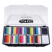 Global BodyArt - Rainbow Explosion Face Painting Kit