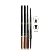 TER Duo 3D All Style Slim Eyebrow Pencil Waterproof and and Long Lasting