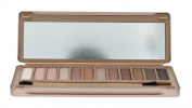 Cameo Naked Fashion Eye Shadow Collection - With Double Ended Applicator Brush - Matte, Pearl, and Metallic Finishes - 12 Colours