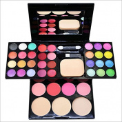Newest trent 8 colours Eye Shadow Palette with Eye Shadow Brush Waterproof Suitable for any style