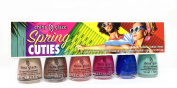 China Glaze Mini Nail Lacquer - SPRING CUTIES (6 colours x 0.125oz/3.6ml) #66232
