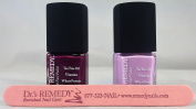 Dr's Remedy Purple Rain Duo - Loveable Lavender, Passion Purple with FREE Dr's Remedy Nail file